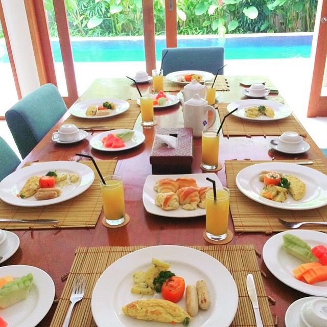 Breakfast it's always a good idea  Photo by our guest @dzty_aquilla