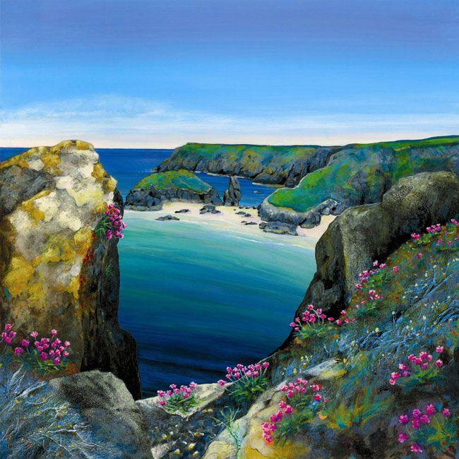 Kynance-seapinks Gilly Johns