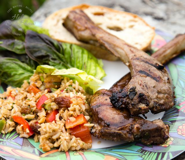 A simple easy recipe for a prepare ahead marinade with balsamic and redcurrant for BBQ lamb chops | Fuss Free Flavours