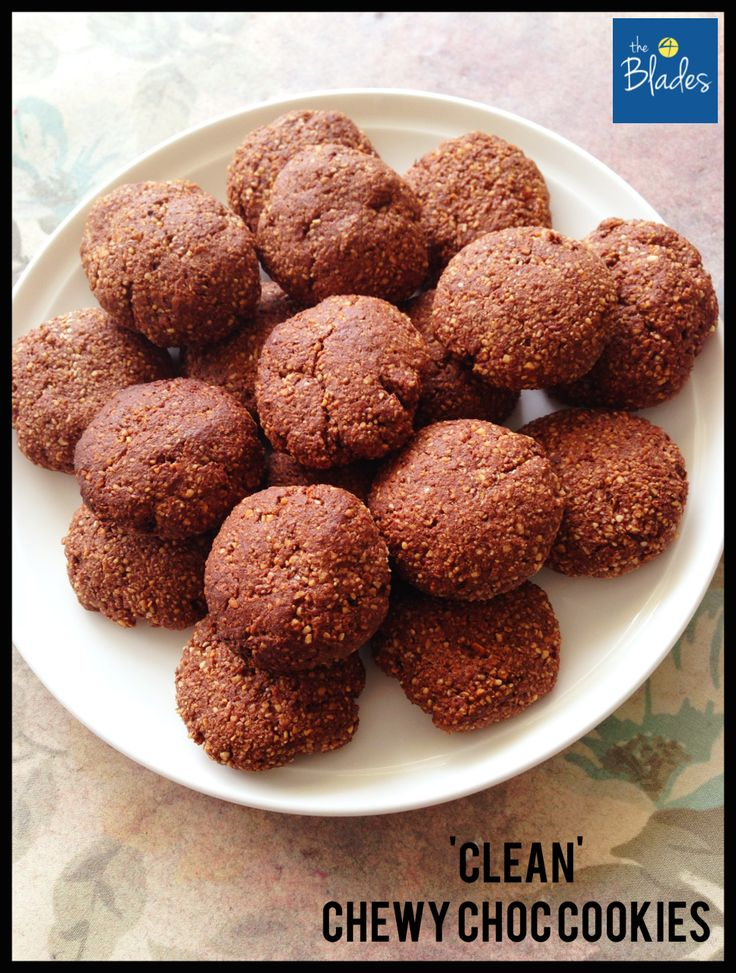 'Clean' Chewy Choc Cookies