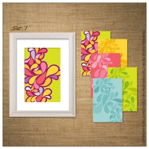 Dress up your walls or dress up a small gift with these sets of digital prints. { 5 digital prints (11x17)}