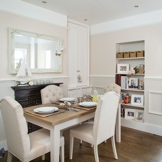 Cream and oak dining room | Decorating
