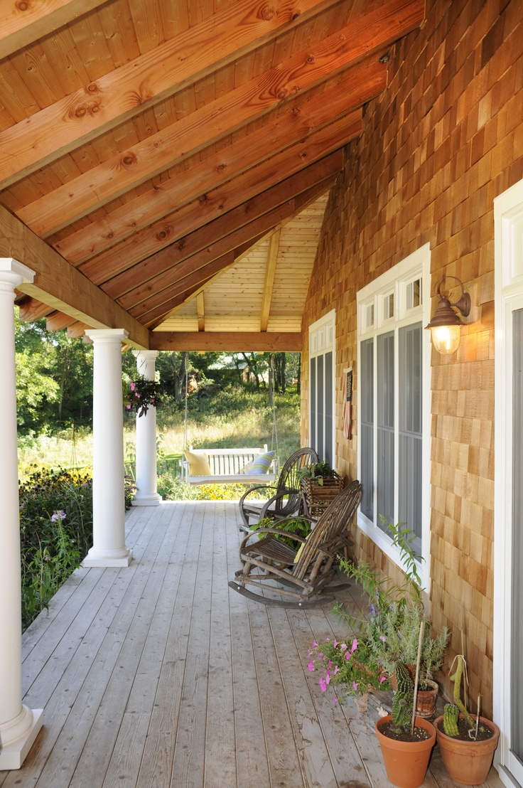 Covered porch future project ideas and inspiration for Covered porch flooring options