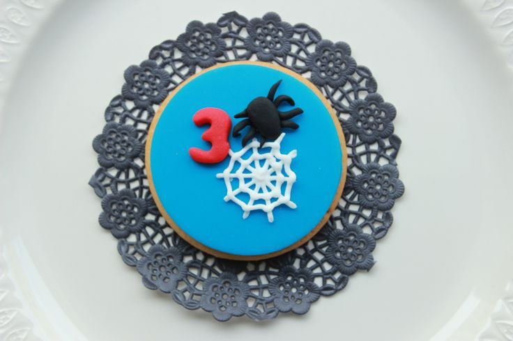 Spider man cookie  www.vintagecakecompany.pt