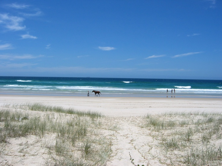 Ocean south of Kingscliff, New South Wales
