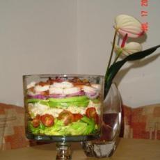 Layered Cobb Salad | Food & Recipes | Pinterest