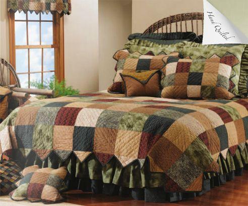 58 best Donna Sharp Quilts images on Pinterest | Around the worlds ... : rustic quilt patterns - Adamdwight.com