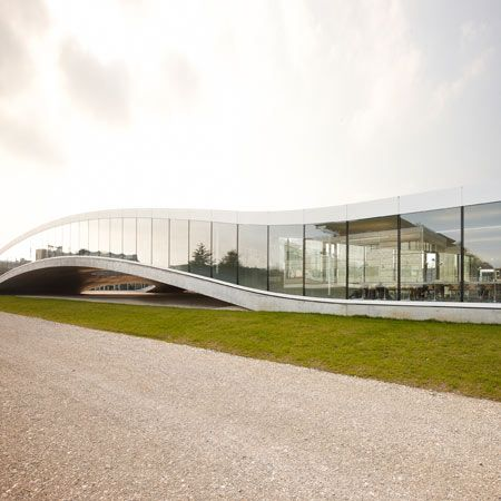 Rolex Learning Centre, by 2010 laureate SANAA