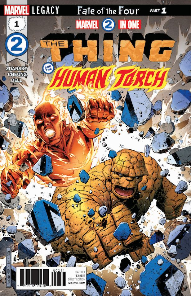 Marvel Legacy New Issue To See The Return Of The Fantastic Four.