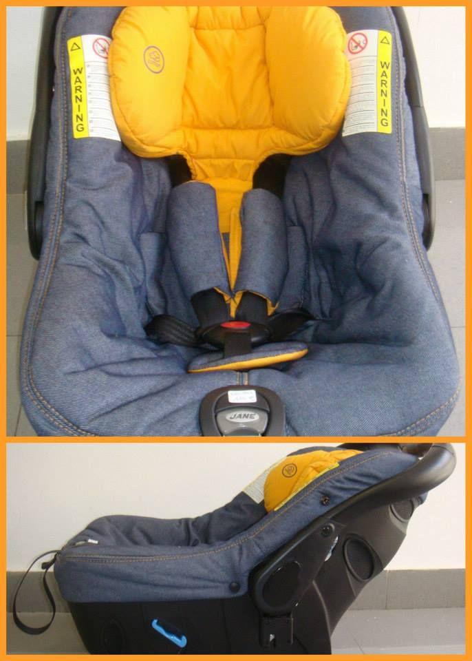 silla para coche grupo 0 jane strata seguridad infantil bebe baby reciclar segunda mano