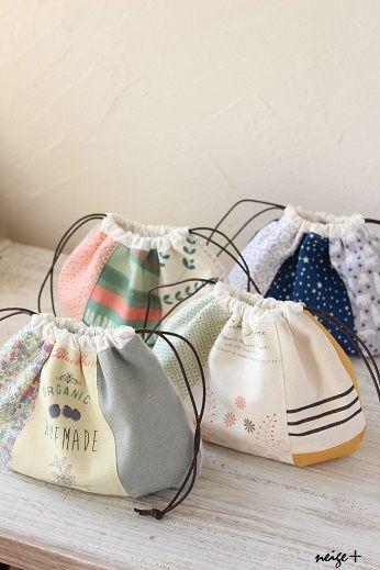 Bolsitas hechas a mano - Handmade Bags - 手作り布小物