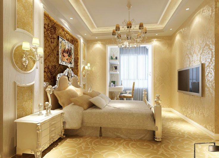 Luxurious Gypsum Ceiling Color Decorations For Modern Home Designs