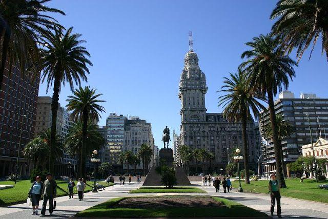 Лики земли -  мир в фотографиях. Монтевидео - город-страна. - Montevideo - the city-country.