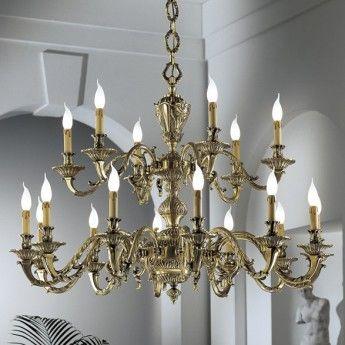 Klasyczna lampa wisząca z serii 1167 - producent Possoni. #Possoni #1137 #włoskie_lampy #interior #wnętrze #design #mosiądz #modne_lampy #lampy_kraków #abanet_kraków #sklep_abanet