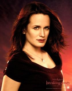 Esme Cullen (born Esme Anne Platt, previously Evenson, born 1895) is a vampire and the matriarch of the Olympic Coven. She is the wife of Carlisle Cullen and the adoptive mother of Alice, Emmett, Edward, Rosalie and Jasper. Esme is also the adoptive mother-in-law of Bella Cullen and the adoptive grandmother of Renesmee Cullen, as well as the ex-wife of Charles Evenson.
