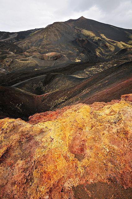 Black mountain - Etna - Sicily by pbOOg, via Flickr