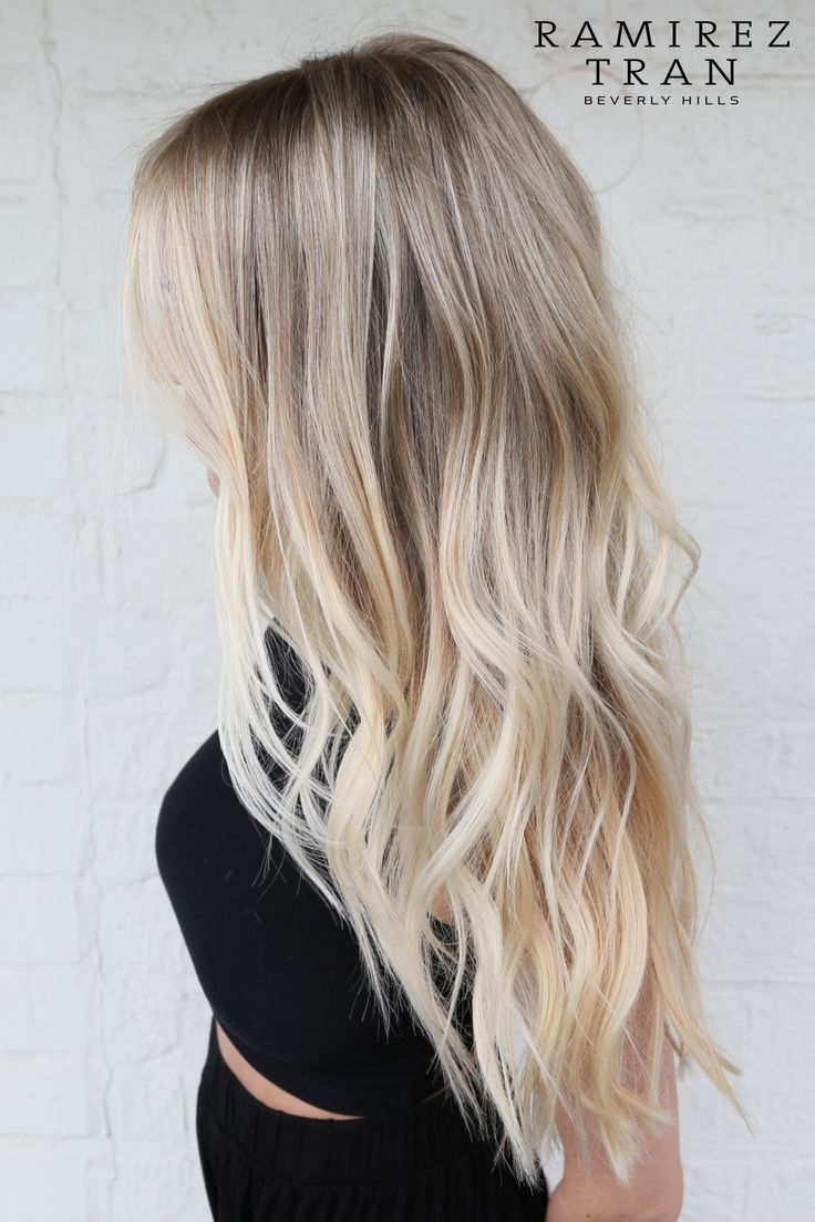 Love this beach blonde color