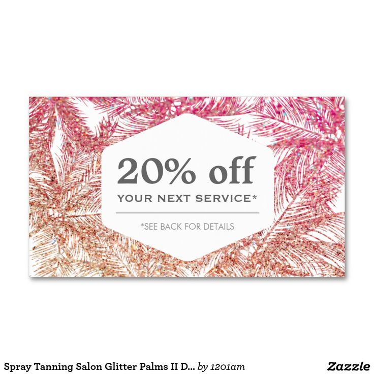 19 best Business Cards for Spray Tanning Salons images on Pinterest ...