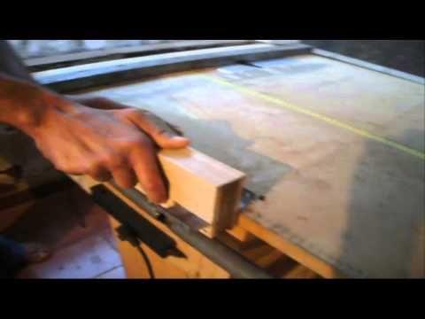 bancada multifuncional com serra esquadrejadeira, plaina, esmeril e fitamento