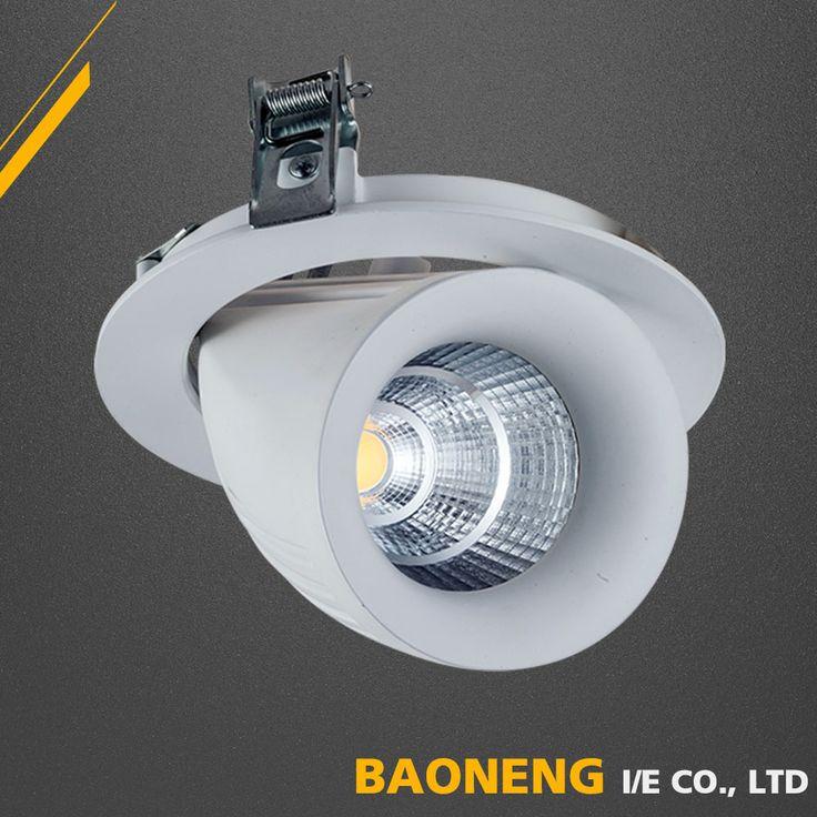 Hot sale High Lumen Mr16 gu10 COB led spotlight 100-240V Wtih Aluminum Body