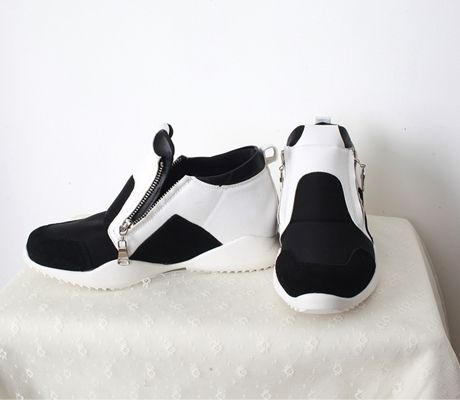 Loveliness of the female clothing shop. [Whitefox] Lift guard Sneakers / Size : 37 / Price : 61.59 USD #korea #fashion #style #fashionshop #apperal #koreashop #ootd #whitefox #shoes #sneakers #dailyshoes