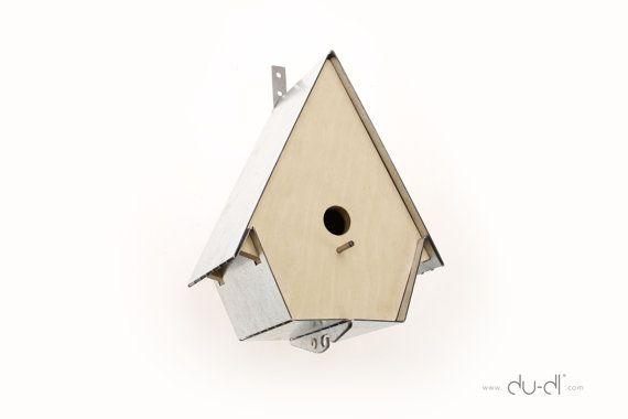 Scandinavian Bird House by Dudlstudio on Etsy