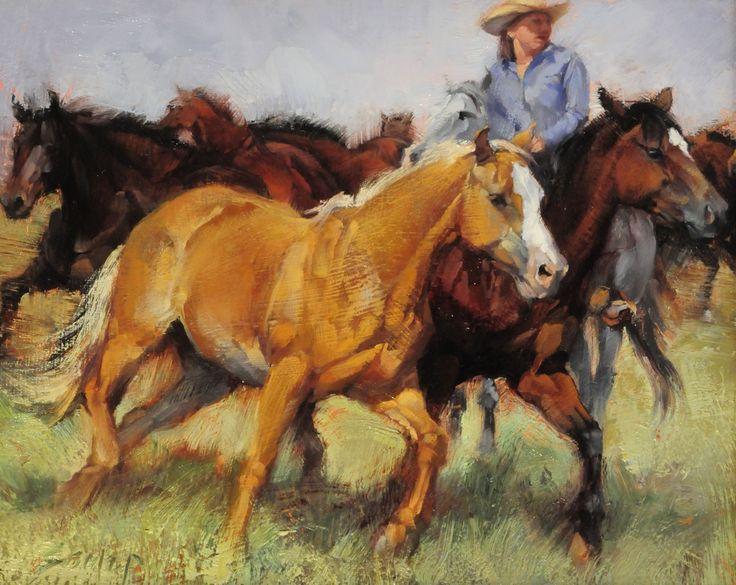 Smith And Kerns >> the rocky mountain school of painting - Google-søk | Horse art, Cowboy art, Horse artwork