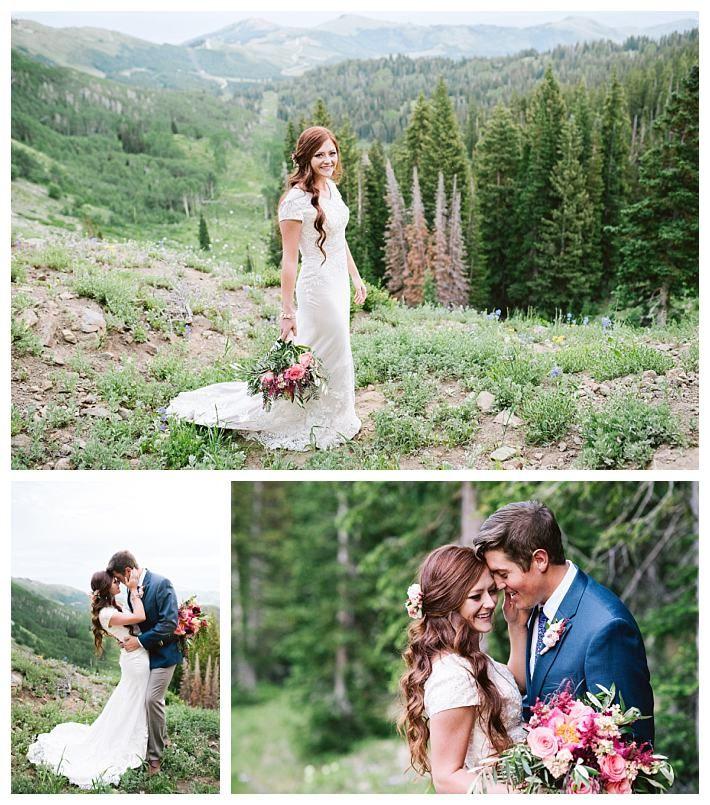 Modest Lace Wedding Dress   Modest wedding, Lace wedding dresses and ...