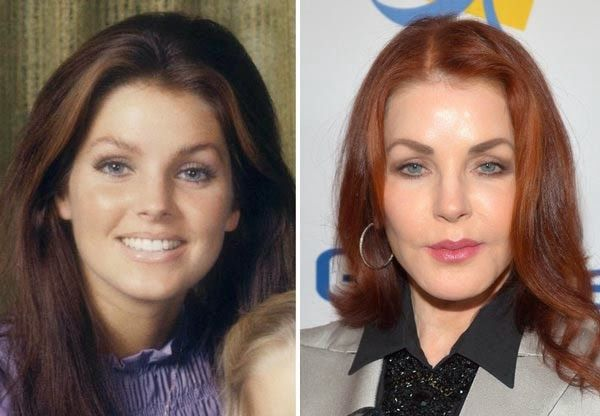 Priscilla Presley before and now - Google-haku