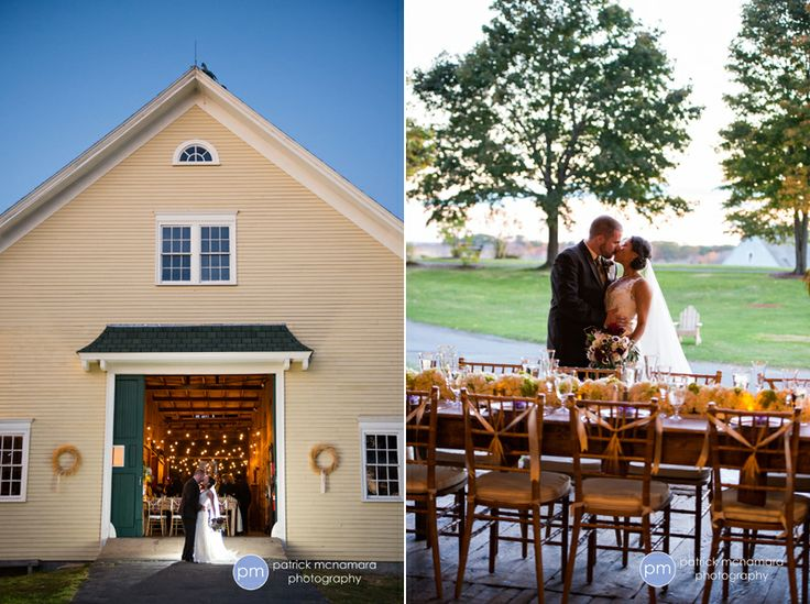 Wells Reserve At Laudholm Farm Is A Stunning Place To Get Married In Southern Maine Photo By Patrick McNamara Photography