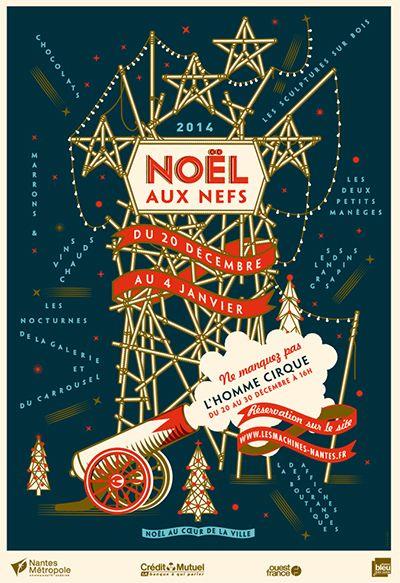 Noël aux Nefs     Cirque, sculptures sur bois, animations dans la rue des Nefs, manèges, découvrez la programmation de Noël aux Nefs, du 20 décembre au 4 janvier.