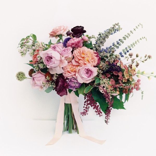 Purple wedding bouquet by Joy Thigpen: #bouquet #purple: www.ryleehitchner...