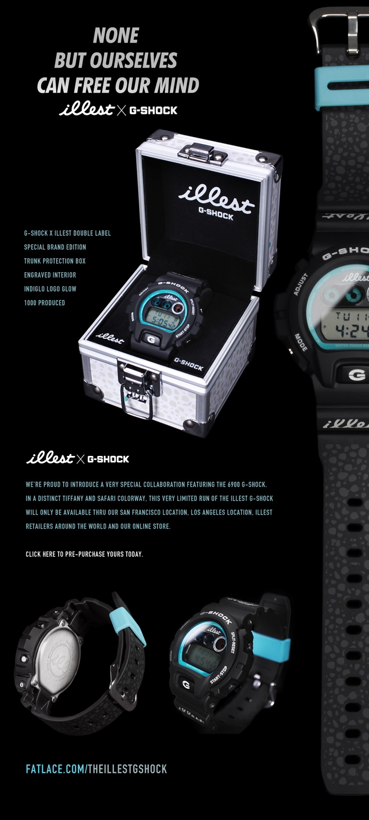 the illest G-Shock fatlace watch