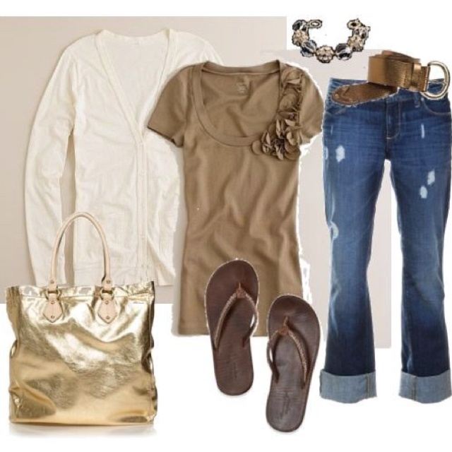 Love the relaxed look!