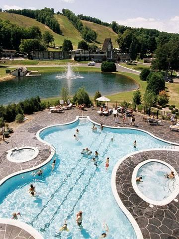 44 Great Midwest Resorts (Pictured: Boyne Falls Mountain Resort, Michigan)    http://www.midwestliving.com/travel/around-the-region/ultimate-midwest-resorts/?page=0,0#