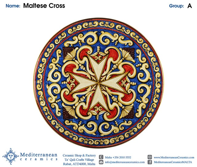 Design: Maltese Cross (C) by Mediterranean Ceramics, via Flickr