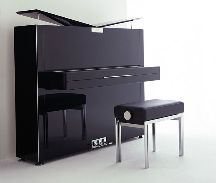 Sauter Pure Designer Upright Piano Will Complement Your Living Room Design