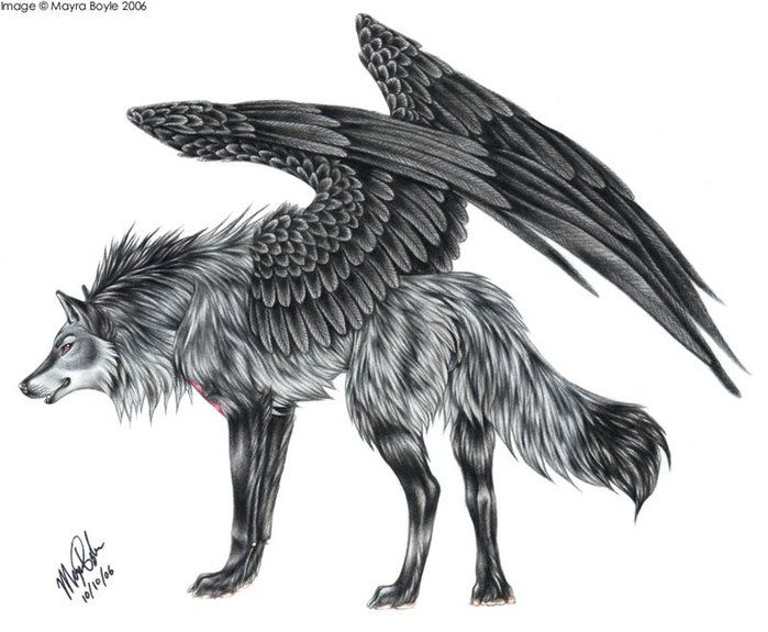 Semargl or Simargl is a deity or mythical creature in East Slavic mythology. An idol of Semargl was present in the pantheon of Great Prince Vladimir I of Kiev. It may be the equivalent of Simurgh in Persian mythology who is also represented like a griffin with a dog body.
