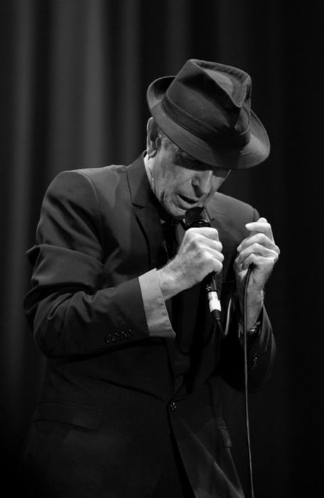 Leonard Cohen November 2012 ~ melted me with his poetry April 2013 - special evening shared with a great friend - melted us BOTH lol