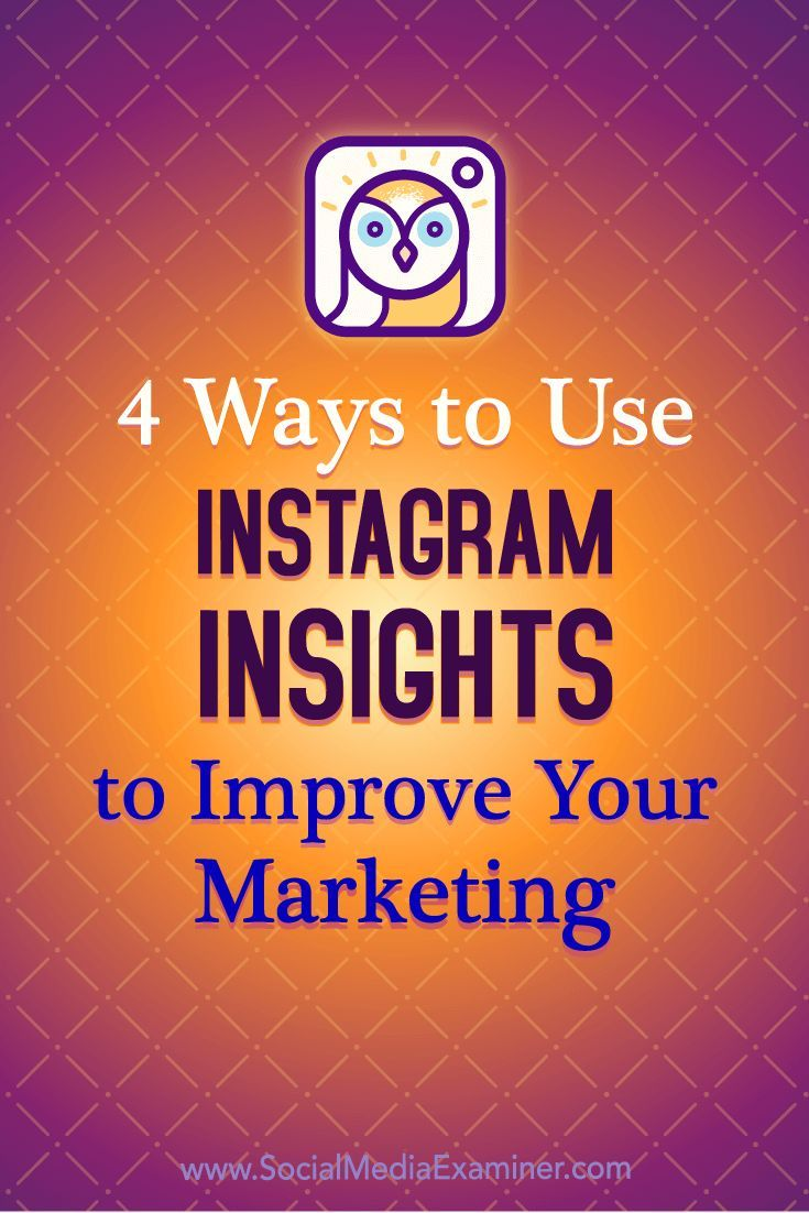 Do you have an Instagram business account?  Wondering how to analyze your Instagram activities?  In this article, you'll discover how to use Instagram Insights to evaluate your followers, posts, stories, and promotions.  #Instagram #SocialMedia #SocialMediaExaminer