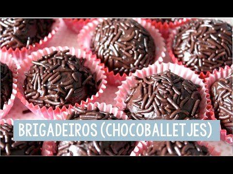 Brigadeiros (Braziliaanse chocoballetjes) - Foodgloss - YouTube