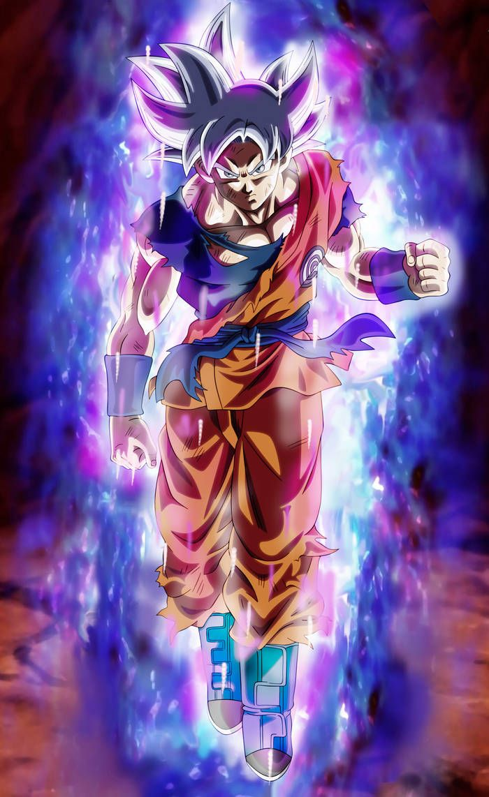Goku Heroes Ultra Instinct By Andrewdb13 On Deviantart Dragon