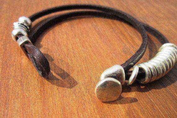 pulseras de plata esterlina pulsera multistrand pulsera por kekugi