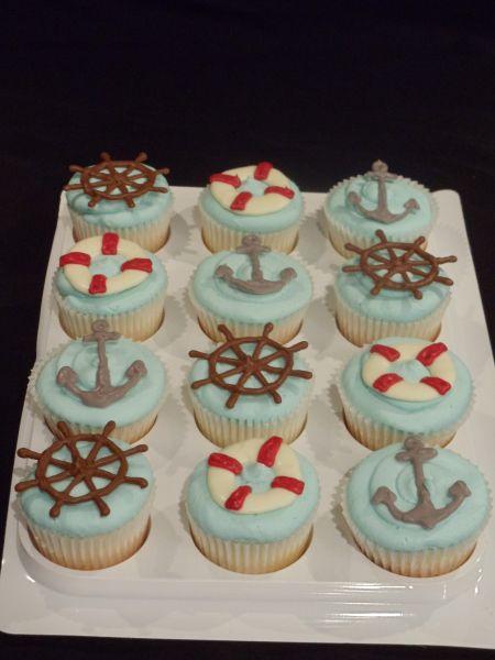 nautical cupcakes   Nautical Cupcakes - Cake Decorating Community - Cakes We Bake