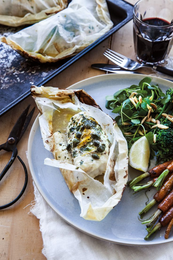 These fish parcels are so quick and easy to put together and cook, making them the perfect midweek meal or quick fix for an impromptu dinner party. Pick up some fish on the way home and make them tonight!  This recipe is from my biggest and most beautiful book yet - Essential Annabel Langbein!