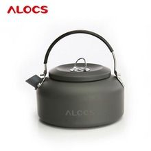 Alocs CW-K03 1.4L Outdoor Kettle Cooking Pot Camping Cooking Pots Sets Camping Food Cooker Water Teapot Coffee Pot Aluminum