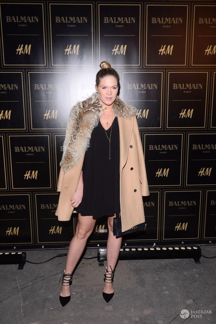 Zosia Ślotała na pokazie Balmain dla H&M