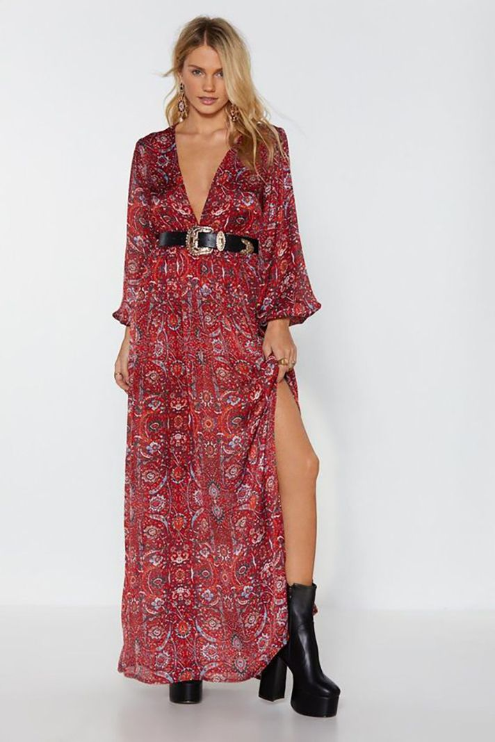 6871f56584 STYLECASTER | The Best Maxi Dresses to Shop for Spring 2019 | Outfit Ideas  and Inspiration: Big Love Paisley Maxi Dress, $35 at Nasty Gal