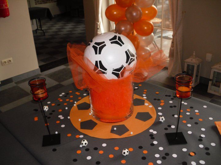 communiefeest thema voetbal