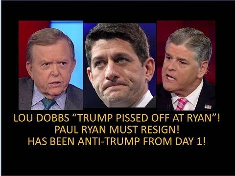 "Freak Accident? Trump Tweet, Watch Judge Jeanine! Judge, ""Paul Ryan Must Resign""! Seriously! - YouTube"